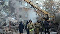 Šestnáct mrtvých a desítky pohřešovaných po výbuchu domu na Uralu. Na místo dorazil Putin