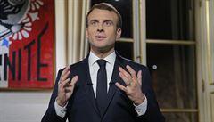 Hněv, který se projevil, dokázal, že jsme nerezignovali, řekl Macron v projevu