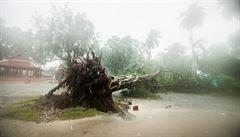 Tropická bouře v Thajsku zeslábla. V oblasti se začíná obnovovat letecký a trajektový provoz