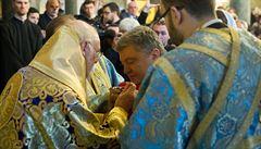 Prezident Porošenko převzal od patriarchy Bartoloměje potvrzení o samostatnosti ukrajinské církve