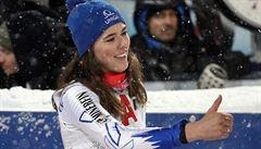 Slovenská paráda. Vlhová se stala první slovenskou mistryní světa ve sjezdovém lyžování