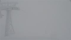 Silnější než Kyrill? Měření na Sněžce ukázalo rychlost větru 270 km/h, rekord ale nepadl