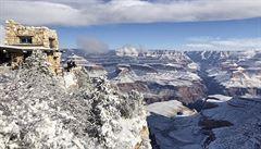 Kaktusy pod sněhem. Pouštní města na jihozápadě USA zaskočila bílá pokrývka