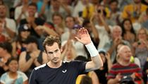 Andy Murray se loučí s Australian Open.