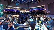 Koncept autonomního aerotaxi Bell Nexus