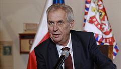 Ministerstvo zahraničí popírá Zemanova slova. Česko-čínské konzultace se neruší, jen se posouvají