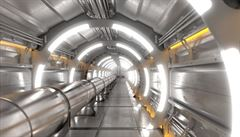 CERN představil vizi nového částicového urychlovače, má odhalit další tajemství vesmíru