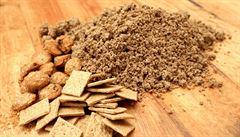 Prazdroj představil sušenky z 'odpadu' při výrobě piva, zatím jen zkušební sérii