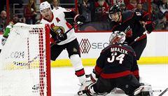 VIDEO: Brankář Mrázek vychytal v NHL nulu a stal se první hvězdou utkání