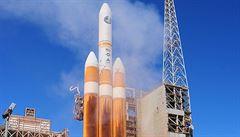 Do vesmíru odstartovala raketa Delta-4H, vynesla zřejmou americkou špionážní družici