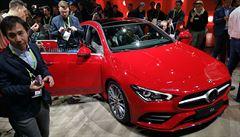 Premiéra mezi elektronikou. Nový Mercedes CLA Coupé byl v Las Vegas v obležení