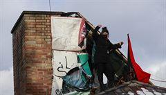 SŽDC žaluje squattery z Kliniky. Za dva roky okupování budovy mají aktivisté zaplatit 2 miliony