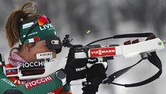 Biatlonisté v Oberhofu ztráceli vybojované pozice, nejlépe dojel Moravec