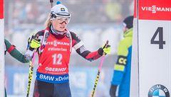 Skvělý výsledek z Oberhofu. Biatlonistky v zajímavém závodě končí třetí
