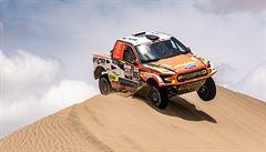 Prokop končí Dakar na šestém místě, Loprais se umístil pátý