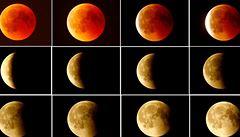 Nový týden začne úplným zatměním Měsíce