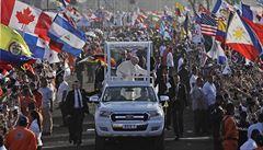 Papežovu mši v Panamě sledovalo 700 tisíc lidí, promluvil i o sociálních sítích
