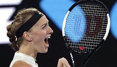 Kvitová je po 7 letech v semifinále Australian Open. Australance Bartyové nechala jen pět gemů