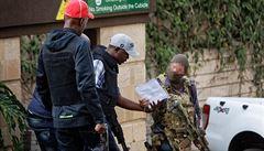 Teroristy v Nairobi likvidoval 'záložák' britských speciálních jednotek SAS