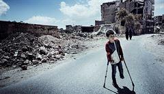 Čtyři roky ve válečných zónách. Podívejte se na unikátní fotografie ze Sýrie a Iráku