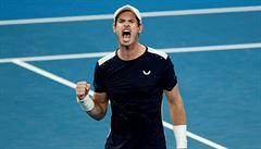 Ani tenista Murray sám sobě nevěří. Jeho poslední nadějí je čtyřicátník Bob