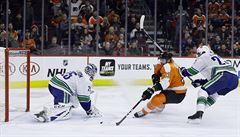 NHL: Flyers nestačilo tříbrankové vedení. Frolík a Rittich pomohli k výhře