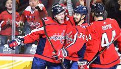 Jaškin druhým gólem v sezoně NHL pomohl Washingtonu k výhře