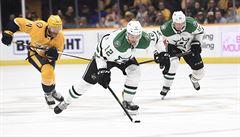 Faksa si připsal v NHL dvě přihrávky, Voráček asistoval třikrát