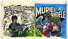Policie před zahájením výstavy zabavila originály komiksů Saudka