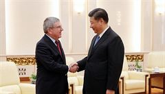 Upřednostním čisté čínské sportovce, vzkázal šéf olympijského výboru Si Ťin-pchingovi