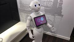 Roboti už jdou do Česka. Baví zákazníky, dělají pohovory nebo fungují jako recepční