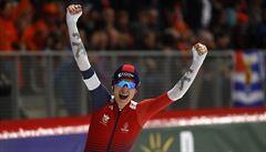Zlatá Sáblíková. V nervydrásajícím závodu vybojovala osmnáctý titul mistryně světa
