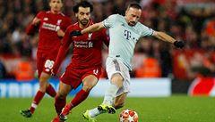 Liga mistrů: Liverpool doma na Bayern nevyzrál, remizovala i Barcelona v Lyonu