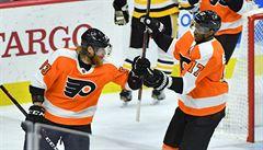 Voráček nezabránil v NHL gólem prohře, trefil se i Vrána. Hertl se stal první hvězdou večera