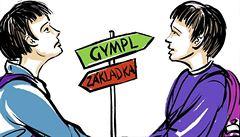 Gymnázia versus 'základky'. Dvojčata mohou porovnávat, víc hodin měla dívka na ZŠ