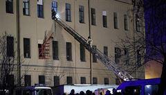 V Petrohradu se částečně zřítila jedna z univerzitních budov, evakuováno bylo 81 lidí