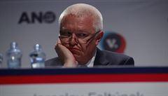Babiš naznačil, že Faltýnek již nebude obhajovat post v čele ANO. První místopředseda hnutí to zatím nepotvrdil