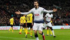 Tottenham rostřílel v Lize mistrů Dortmund, Ajax nestačil na Real Madrid