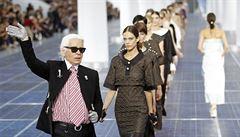 Karl Lagerfeld - excentrická tvář Chanelu slaví osmdesátiny