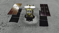 Japonská sonda se připravuje na odběr vzorků z asteroidu Ryugu
