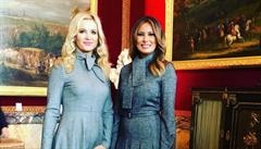 Monika Babišová se s Melanií Trumpovou setká dvakrát. První dáma USA ji pozvala i na předávání cen