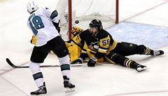NHL: Hertl byl hvězdou večera se dvěma brankami, skóroval i Faksa