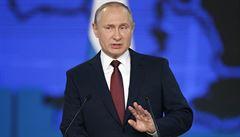 Putin stejně jako Američané pozastavil platnost dohody s USA o likvidaci raket