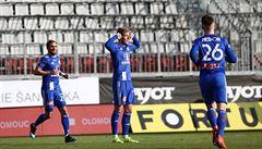 Olomouc v dohrávce porazila osmý Liberec a bodově se na něj dotáhla