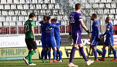 Bohemians vstřelili po 479 minutách branku, Boleslav zdolala v nastavení Jablonec