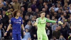 VIDEO: Nejdražší brankář světa odmítl vystřídat, trenér Chelsea zuřil