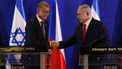 Babiš telefonoval s Netanjahuem, probírali pandemii i kyberbezpečnost. Zároveň ho pozval do Česka