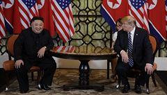 Trump v Hanoji poprvé Kima otevřeně vyzval, aby odevzdal USA  jaderné zbraně