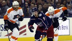 Voráček si v NHL připsal gól a přihrávku, ale prohru neodvrátil