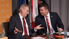 Zeman byl k ČSSD vstřícný. Útočil ale na její liberální část, míní zástupci parlamentních stran